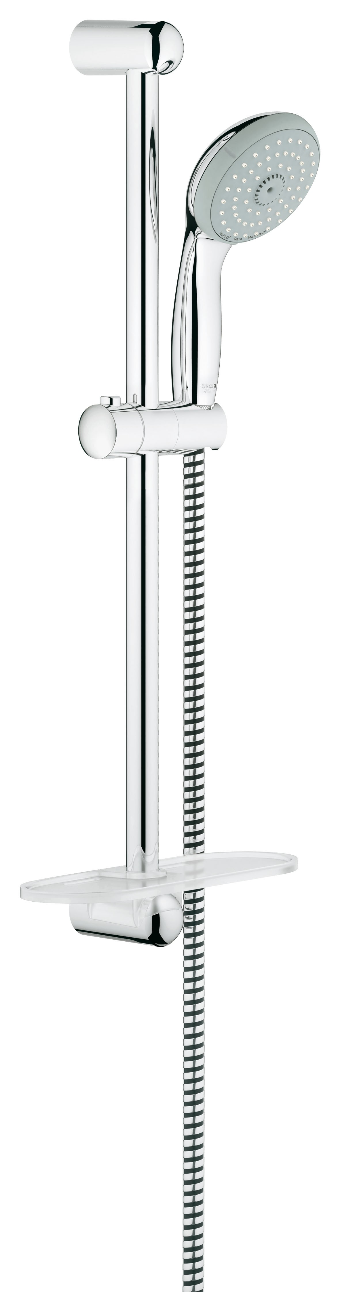 Душевой гарнитур Grohe 27927000 Tempesta Classic (ручной душ, штанга 600 мм, шланг 1750 мм), хром