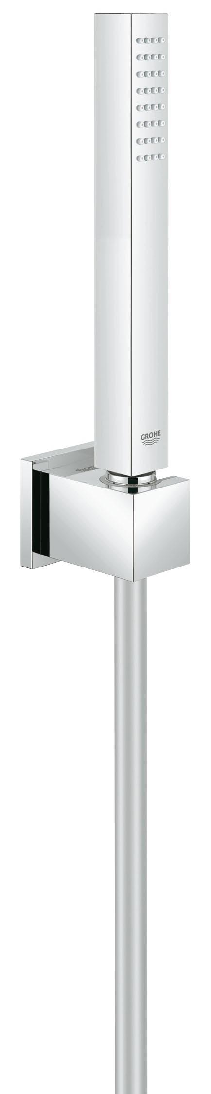 Душевой набор Grohe 27703000 Euphoria Cube (ручной душ, настенный держатель, шланг 1250 мм), хром