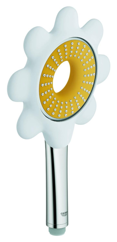 Ручной душ Grohe 26115YF0 Rainshower Icon 100 (1 режим), желтый