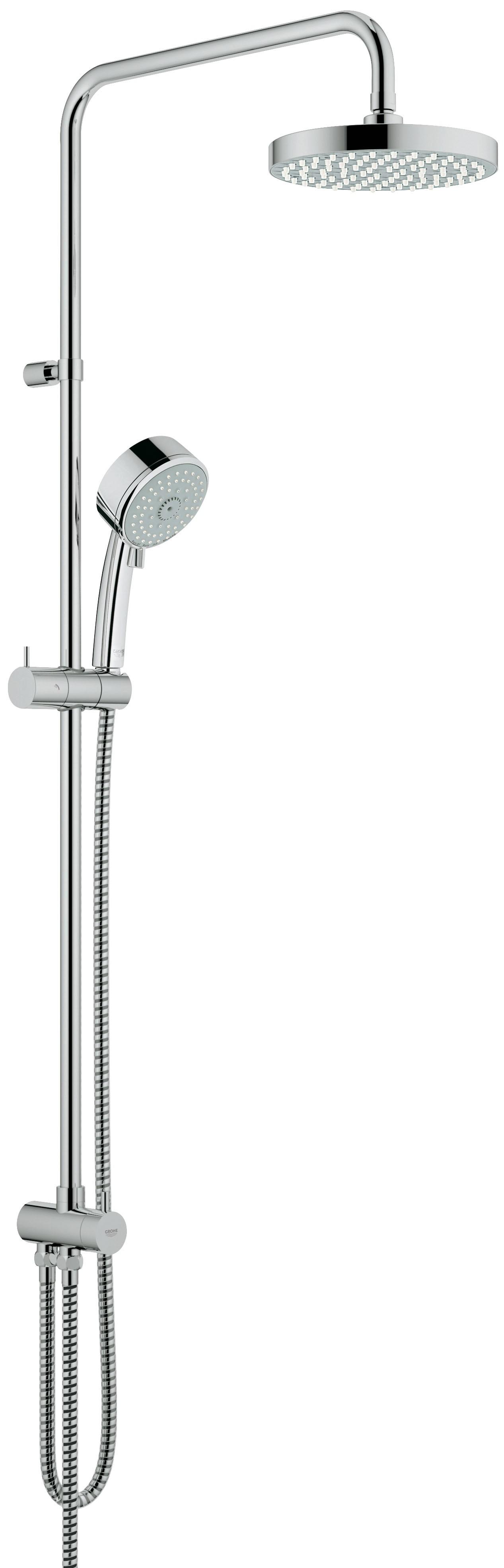 Душевая система Grohe 27394000 Tempesta Cosmopolitan, верхний и ручной душ, без смесителя, хром (27394000)