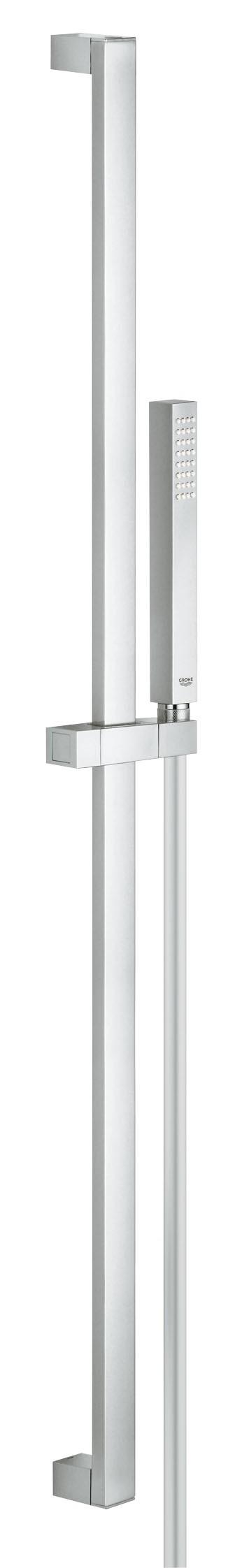 Душевой гарнитур Grohe 27700000 Euphoria Cube (ручной душ, штанга 900 мм, шланг 1750 мм), хром
