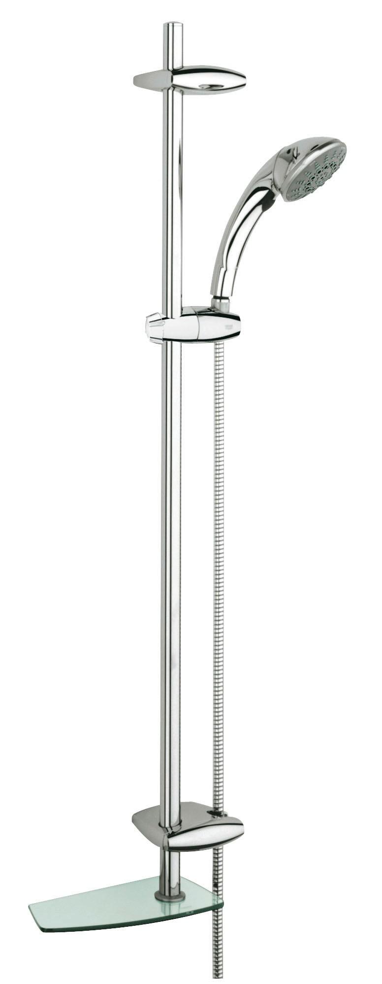 Душевой гарнитур Grohe 28571000 Movario (ручной душ, штанга 900 мм, шланг 1750 мм), хром