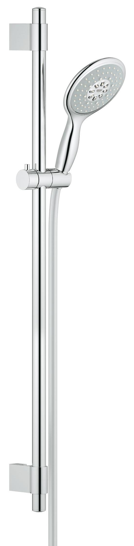 Душевой гарнитур Grohe 27738000 Power&Soul 130 (ручной душ, штанга 900 мм, шланг 1750 мм) с ограничением расхода воды, хром (27738000)