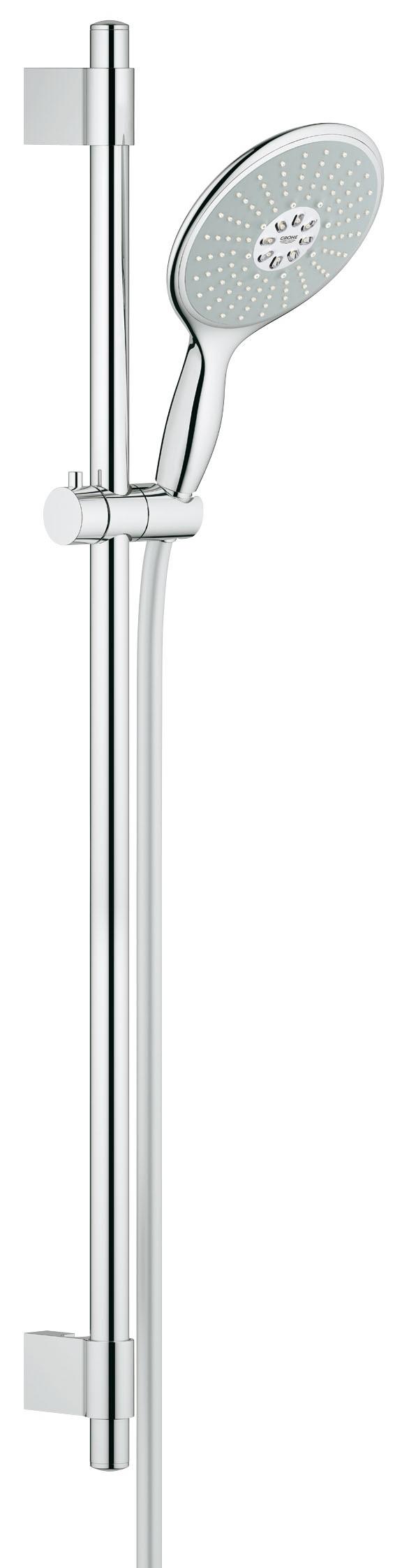 Душевой гарнитур Grohe 27750000 Power&Soul 160 (ручной душ, штанга 900 мм, шланг 1750 мм) с ограничением расхода воды, хром