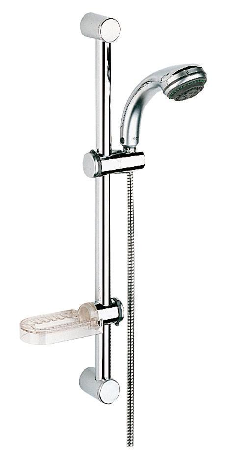 Душевой гарнитур Grohe 28656000 Relexa Plus (ручной душ, штанга 600 мм, шланг 1500 мм), хром