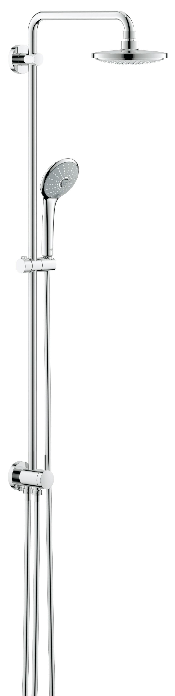 Душевая система Grohe 27297001 Euphoria, верхний и ручной душ, без смесителя, хром