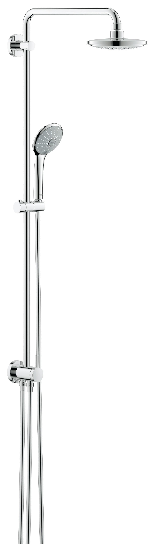 Душевая система Grohe 27421001 Euphoria, верхний и ручной душ, без смесителя, хром