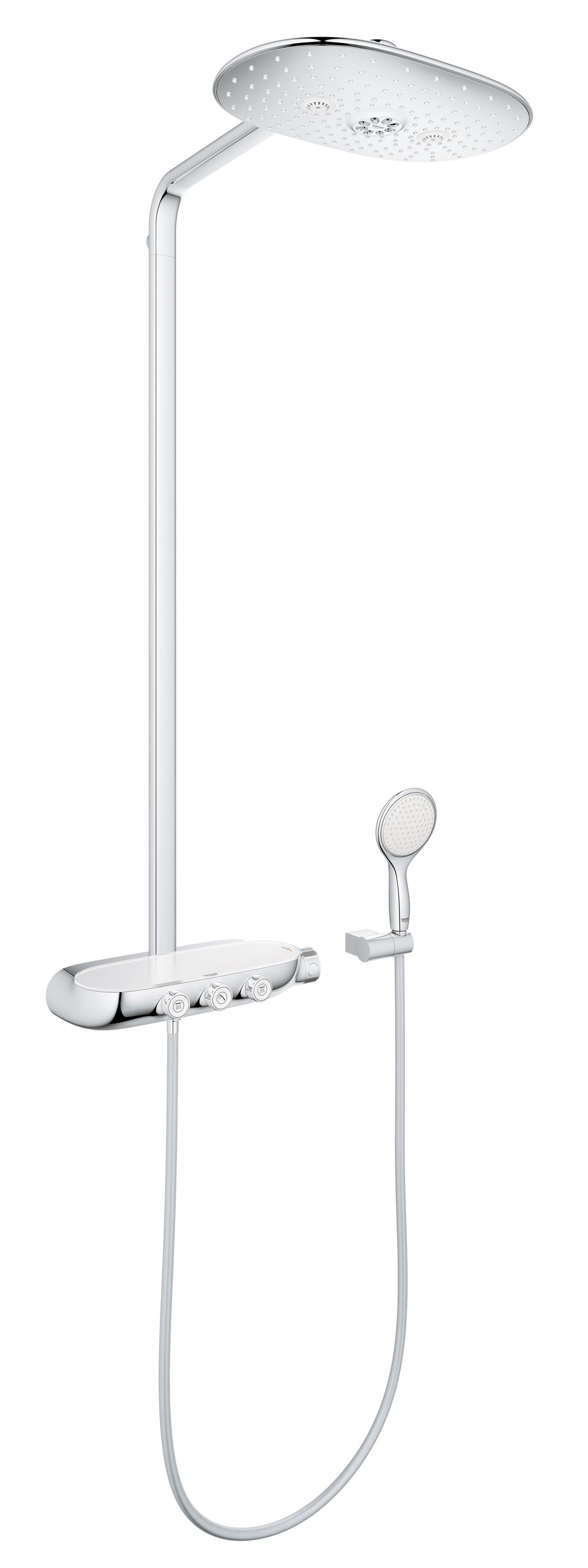 Душевая система Grohe 26250000 Rainshower SmartControl с верхним и ручным душем, хром (26250000)