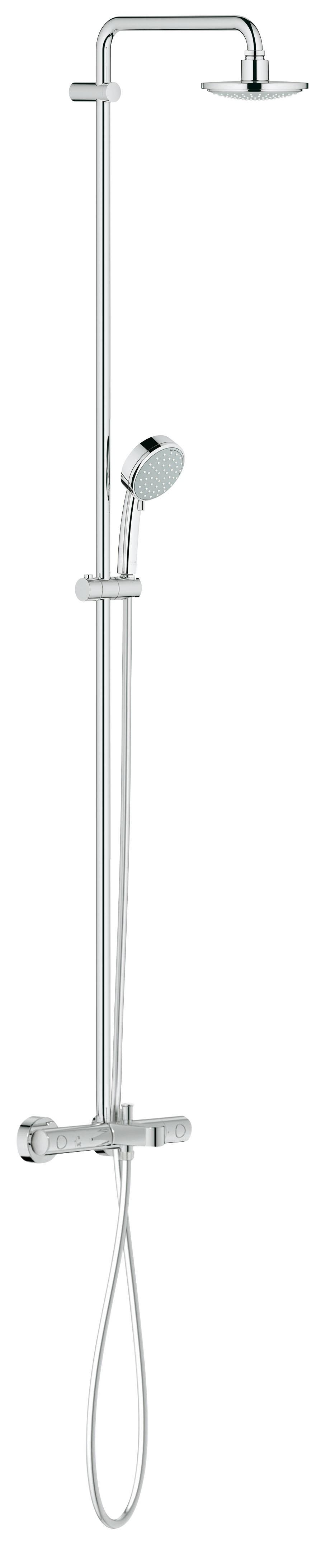 Душевая система Grohe 26223000 Tempesta Cosmopolitan 160 с верхним и ручным душем, хром