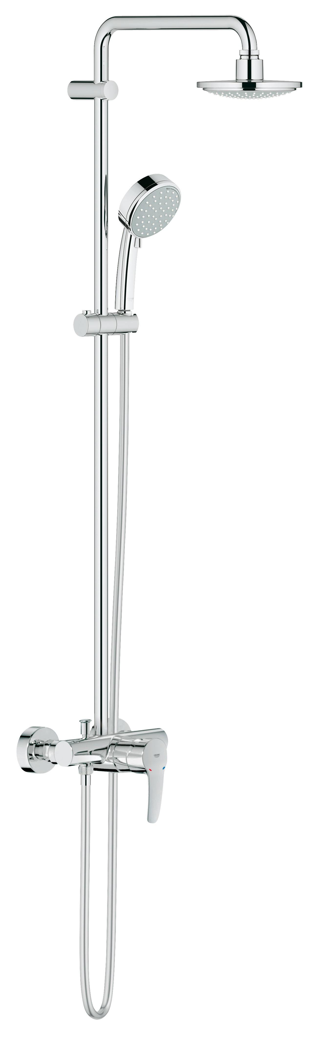 Душевая система Grohe 26224000 Tempesta Cosmopolitan 160 с верхним и ручным душем, хром