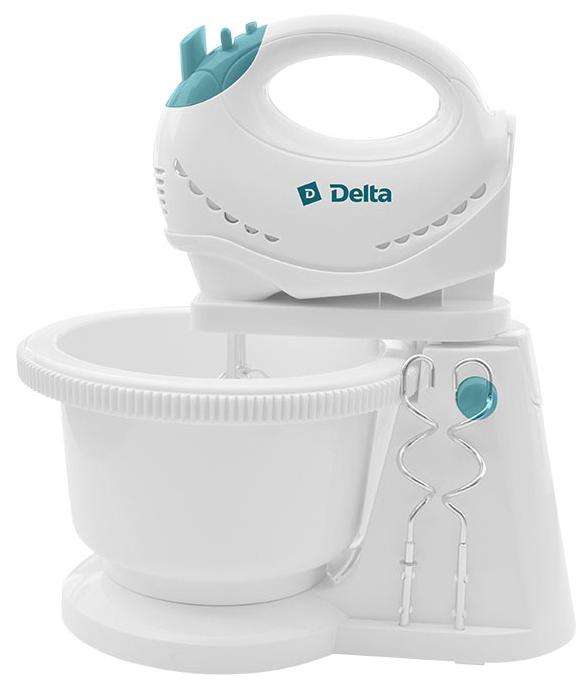 Миксер Delta-DL -5062С, белый с голубым К48667