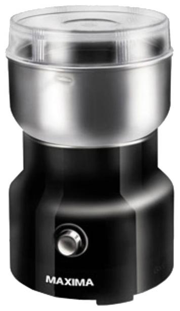 Кофемолка Maxima MCG-1602, черная К49715