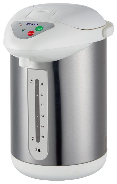 Термопот Bravo TL-28S, металл К46746