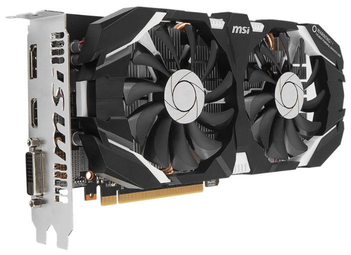 ���������� GeForce MSI GTX 1060 1544Mhz PCI-E 3.0 6144Mb 8000Mhz 192 bit DVI HDMI HDCP GTX 1060 6GT OC