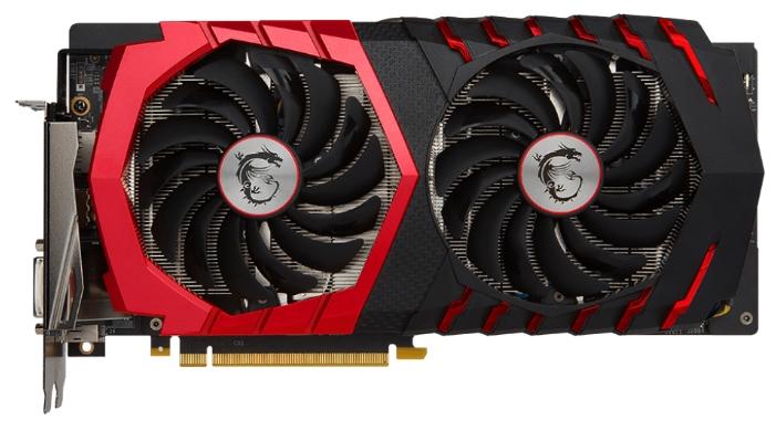 Видеокарта GeForce MSI GeForce GTX 1060 1531Mhz PCI-E 3.0 3072Mb 8008Mhz 192 bit DVI HDMI HDCP (GTX 1060 GAMING 3G)