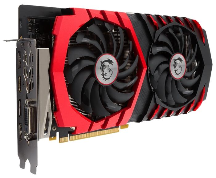 Видеокарта GeForce MSI GeForce GTX 1060 1594Mhz PCI-E 3.0 3072Mb 8108Mhz 192 bit DVI HDMI HDCP GTX 1060 GAMING X 3G