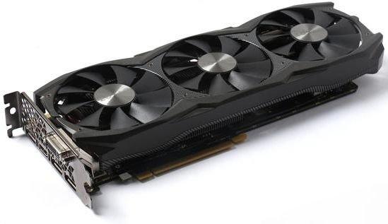 Видеокарта GeForce ZOTAC GeForce GTX 1070 1632Mhz PCI-E 3.0 8192Mb 8208Mhz 256 bit DVI HDMI HDCP ZT-P10700F-10P