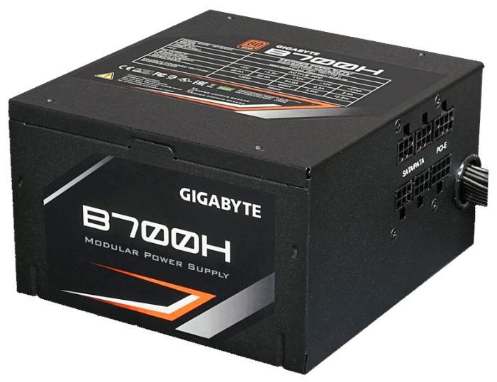 Блок питания GigaByte B700H 700W (Bronze Mod, 12cm)
