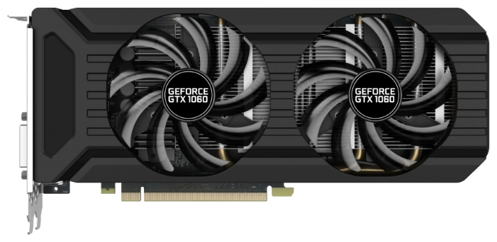Видеокарта GeForce Palit PCI-E NV GTX1060 Dual 3Gb NE51060015F9-1061D