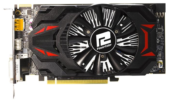 Видеокарта Radeon PowerColor R7 370 985Mhz PCI-E 3.0 2048Mb 5700Mhz 256 bit 2xDVI HDMI HDCP AXR7 370 2GBD5-DHE/OC