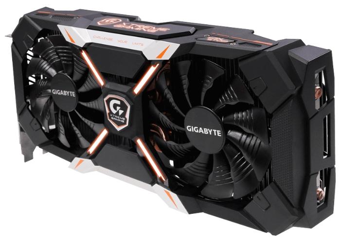 Видеокарта GeForce GigaByte GTX 1060 1645Mhz PCI-E 3.0 6144Mb 8316Mhz 192 bit DVI 3xHDMI HDCP GV-N1060 XTREME-6GD