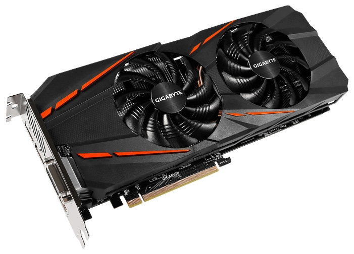 Видеокарта GeForce GigaByte GTX 1060 1620Mhz PCI-E 3.0 3072Mb 8008Mhz 192 bit DVI HDMI HDCP GV-N1060G1 GAMING-3GD
