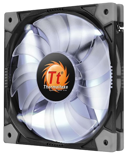 ����� Thermaltake Luna 14 Slim LED, ����� CL-F036-PL14WT-A