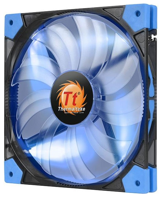����� Thermaltake Luna 12 Slim LED 120 mm, ����� CL-F035-PL12BU-A