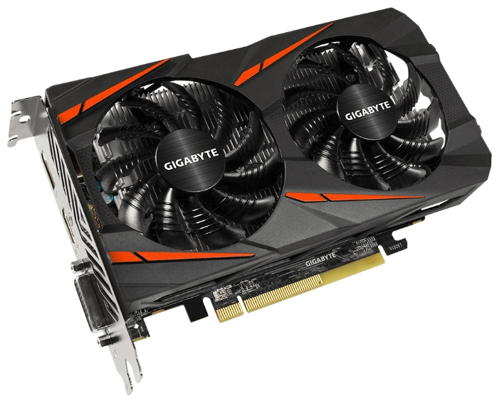 Видеокарта Radeon GigaByte Radeon RX 460 128 bit (GV-RX460WF2OC-4GD)