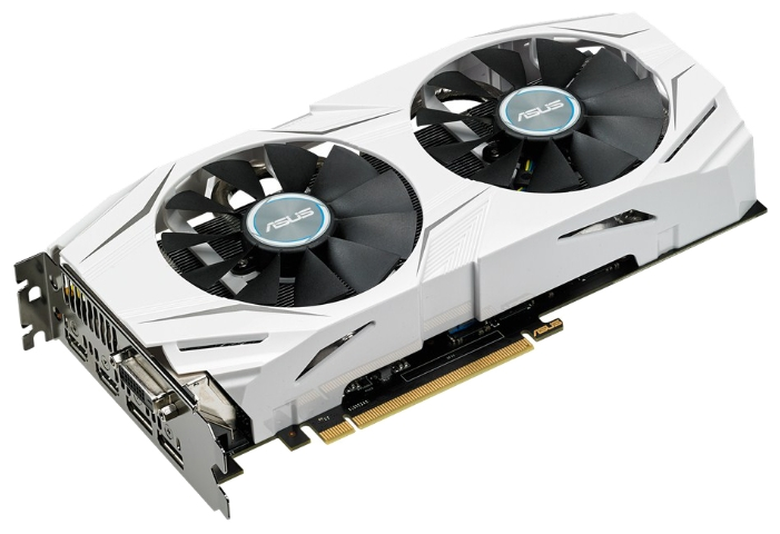 ���������� GeForce ASUS GeForce GTX 1070 1582Mhz PCI-E 3.0 8192Mb 8008Mhz 256 bit DVI 2xHDMI HDCP DUAL-GTX1070-O8G