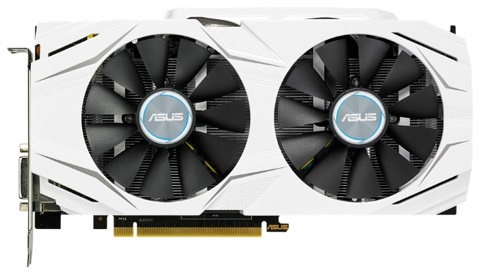 Видеокарта GeForce ASUS GeForce GTX 1070 1506Mhz PCI-E 3.0 8192Mb 8008Mhz 256 bit DVI 2xHDMI HDCP DUAL-GTX1070-8G