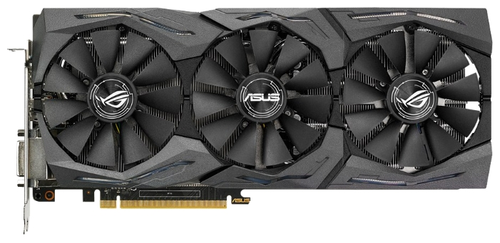 Видеокарта GeForce ASUS GTX 1060 1620Mhz (STRIX-GTX1060-O6G-GAMING)