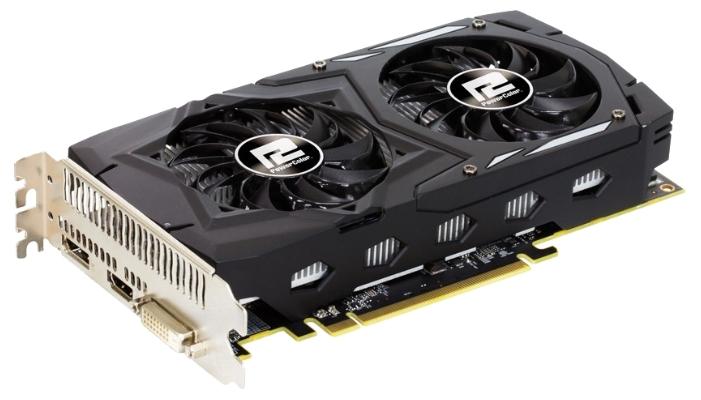 Видеокарта Radeon PowerColor Radeon RX 460 1212Mhz PCI-E 3.0 4096Mb 7000Mhz 128 bit DVI HDMI HDCP AXRX 460 4GBD5-DHV2/OC
