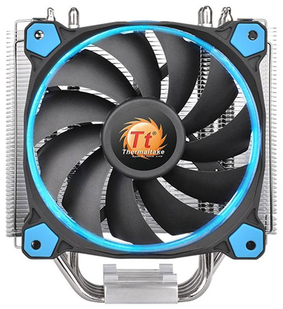 Кулер Thermaltake Riing Silent 12 (CL-P022-AL12BU-A), синий