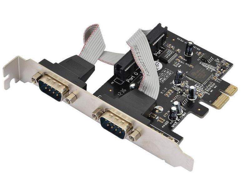 Контроллер Orient XWT-PE2S (2x COM, PCI-e)