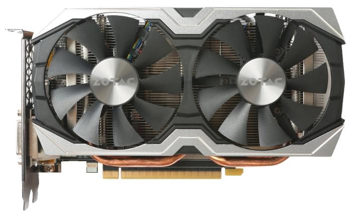 Видеокарта GeForce ZOTAC (ZT-P10600B-10M) 6144Mb 192b DDR5 D-DVI+HDMI