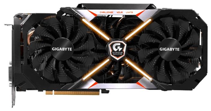 Видеокарта GeForce GigaByte GeForce GTX 1080 1784Mhz PCI-E 3.0 8192Mb 10400Mhz 256 bit DVI HDMI HDCP Premium pack GV-N1080XTREME-8GD-PP