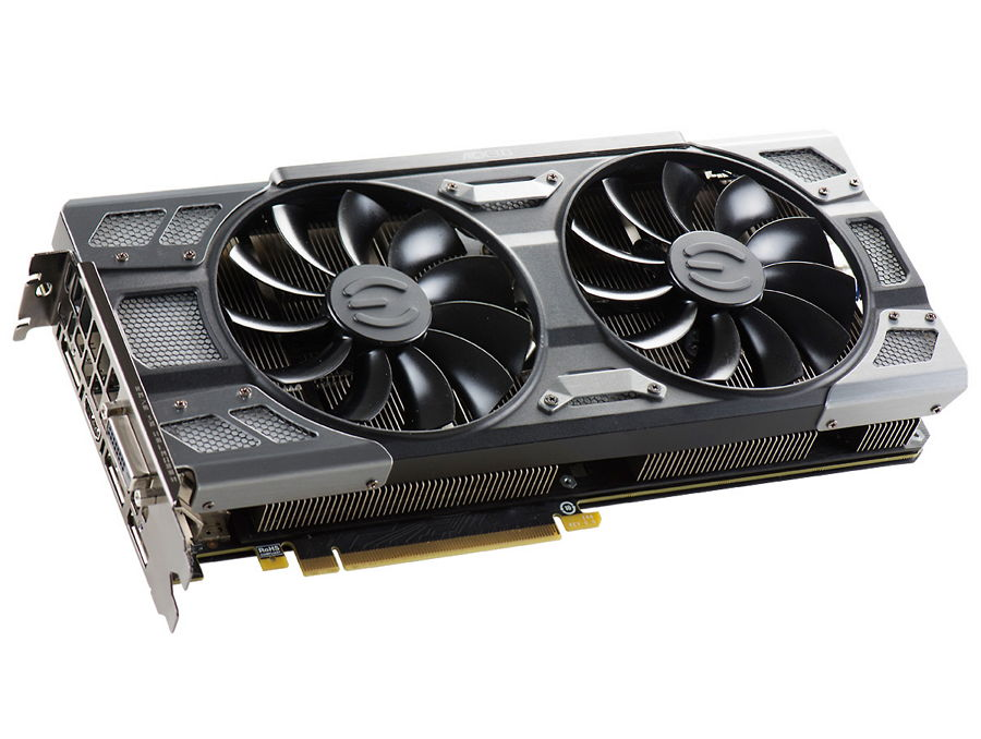 Видеокарта GeForce EVGA GeForce GTX 1080 1721Mhz PCI-E 3.0 8192Mb 10000Mhz 256 bit DVI HDMI HDCP (08G-P4-6286-KR)