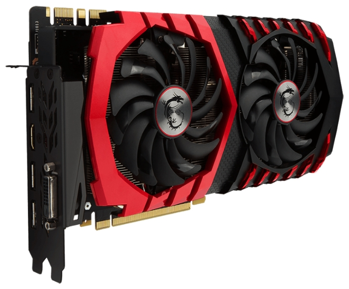 ���������� GeForce MSI GeForce GTX 1080 1708Mhz PCI-E 3.0 8192Mb 10108Mhz 256 bit DVI HDMI HDCP (GTX 1080 GAMING X 8G)