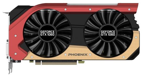 ���������� Radeon Gainward GeForce GTX 1060 1506Mhz PCI-E 3.0 6144Mb 8000Mhz 192 bit DVI HDMI HDCP Phoenix 63729