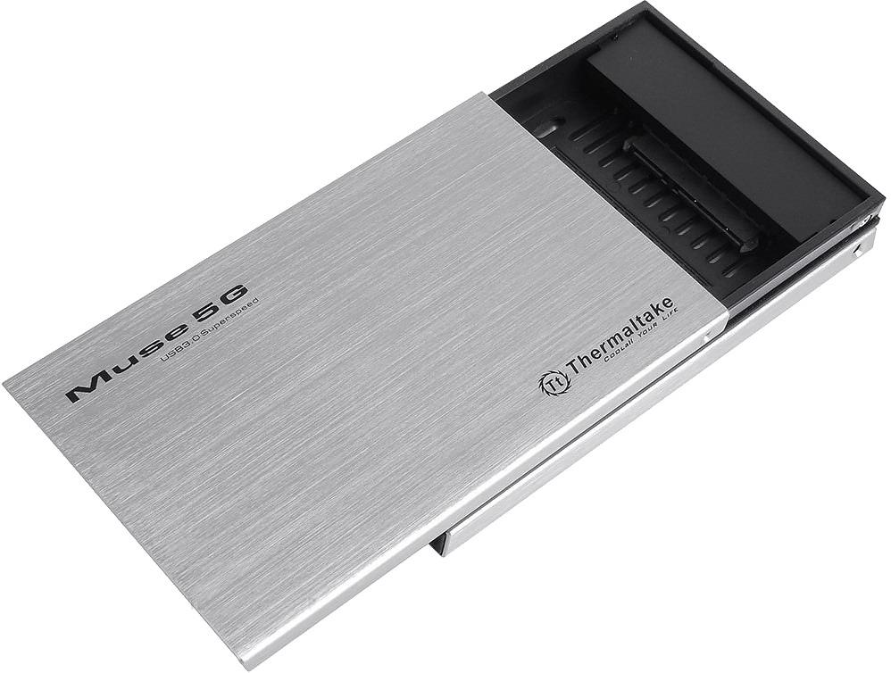 Корпус жесткого диска Thermaltake Muse 5G, серебристый ST0041Z