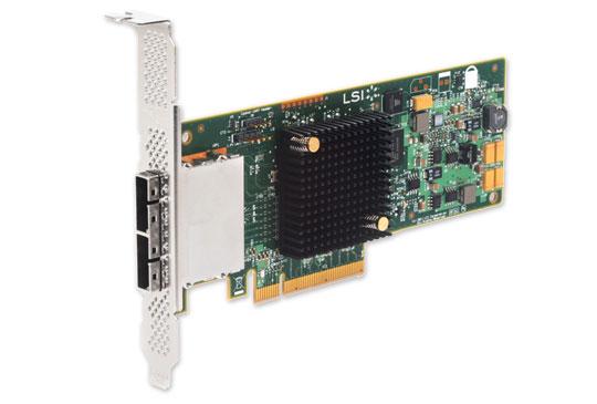 Контроллер LSI-LOGIC 9207-8e SGL LSI00300 (H5-25427-00)