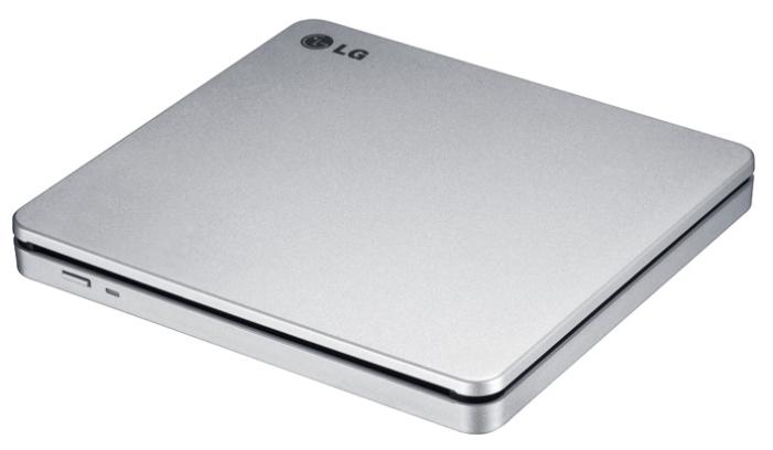 Оптический привод LG GP70NS50, серебристый