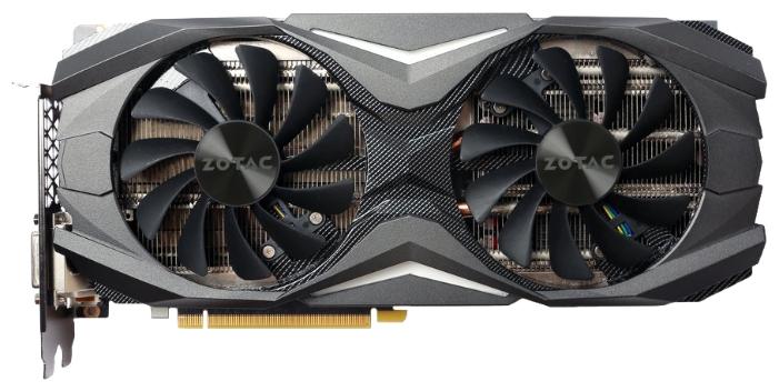 Видеокарта GeForce ZOTAC GeForce GTX 1070 1607Mhz PCI-E 3.0 8192Mb 8000Mhz 256 bit DVI HDMI HDCP ZT-P10700C-10P