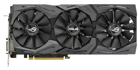 Видеокарта GeForce ASUS GeForce GTX 1070 1531Mhz PCI-E 3.0 8192Mb 8008Mhz 256 bit DVI 2xHDMI HDCP STRIX-GTX1070-8G-GAMING