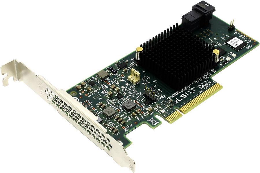 Контроллер LSI-LOGIC MegaRAID SAS 9341-4i SGL (LSI00419 ) 05-26105-00