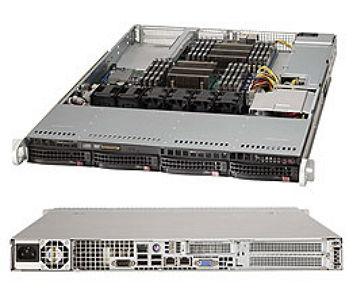 Серверная платформа Supermicro SYS-6017R-NTF (1U)