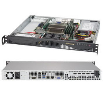 Серверная платформа Supermicro SYS-5019S-ML (1U)