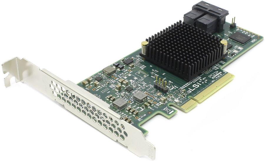 Контроллер LSI-LOGIC SAS 9300-8i (PCI-e - SAS / SATA) LSI00344