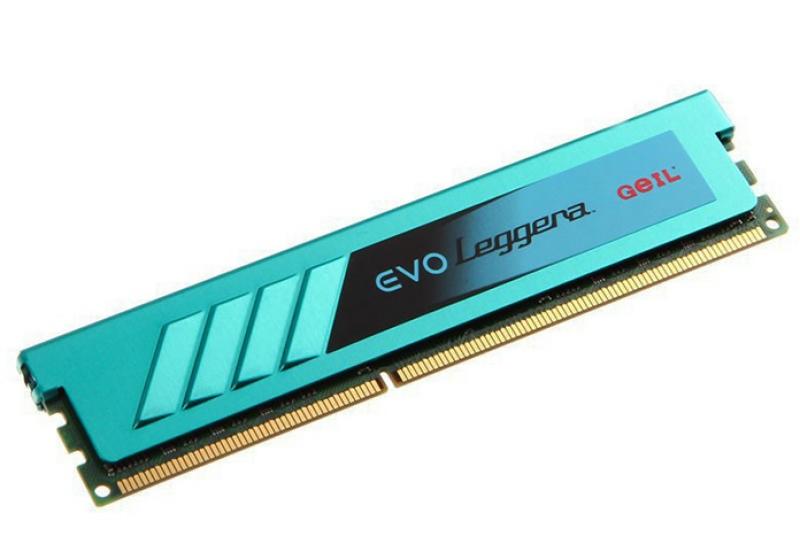Модуль памяти Geil GEL34GB1600C9SC (DDR3, 4096Mb, 1600Mhz) Evo Leggera
